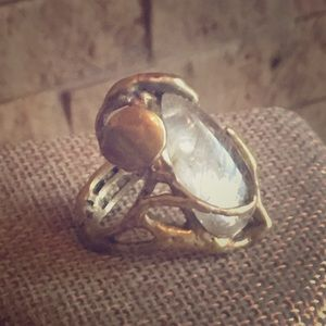 One Of A Kind Artisan Statement Ring Size 6